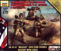 ズベズダART OF TACTIC HOT WARアメリカ 対戦車ミサイル M-47 ドラゴン & クルー