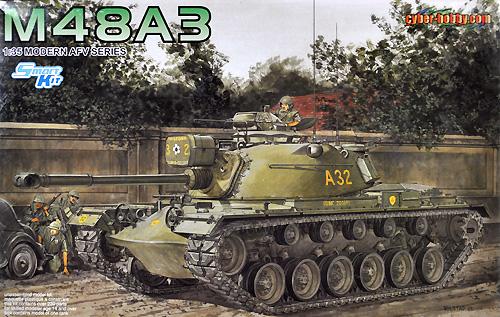 アメリカ陸軍 M48A3 パットンプラモデル(サイバーホビー1/35 Modern AFV SeriesNo.3546)商品画像