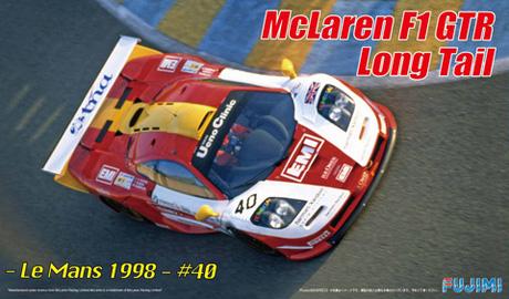 マクラーレン F1 GTR ロングテール ル・マン 1998 #40プラモデル(フジミ1/24 リアルスポーツカー シリーズNo.旧059)商品画像
