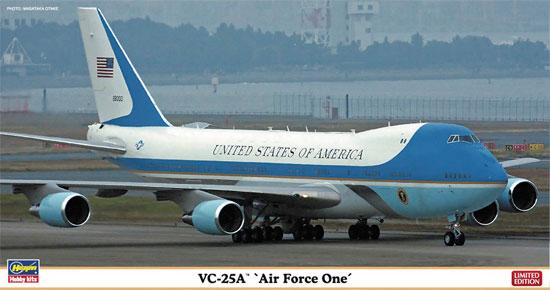VC-25A エアフォースワンプラモデル(ハセガワ1/200 飛行機 限定生産No.10805)商品画像