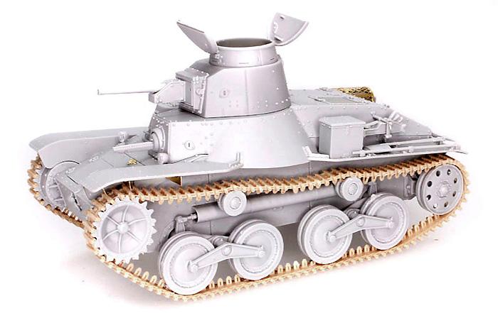 日本帝国陸軍 九五式軽戦車ハ号 (後期型)プラモデル(サイバーホビー1/35 AFV シリーズ ('39~'45 シリーズ)No.6770)商品画像_3