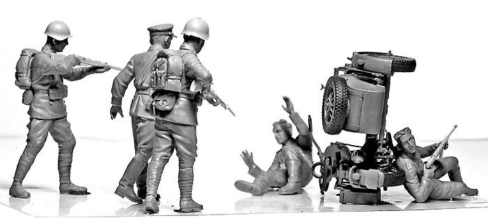 独ソ・アクシデント - 事故遭遇プラモデル(マスターボックス1/35 ミリタリーミニチュアNo.MB3590)商品画像_3