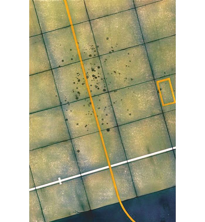 飛行場 舗装滑走路 情景ベースベース(トゥルーディティールアクセサリーパーツNo.72901)商品画像_2