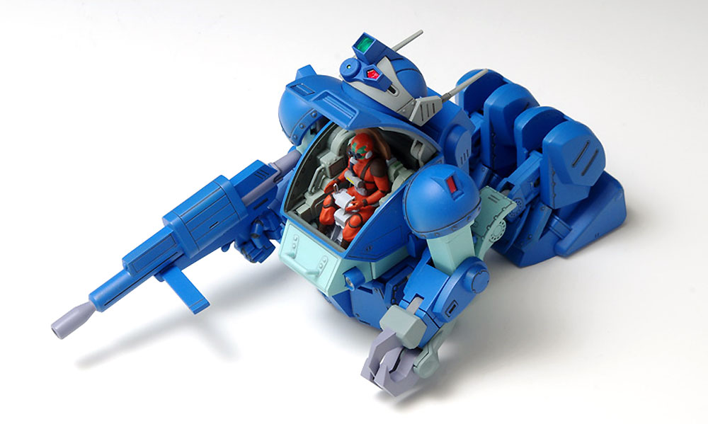 X・ATH-02-DT ラビドリードッグ (PS版)プラモデル(ウェーブ装甲騎兵ボトムズNo.PS-001)商品画像_3