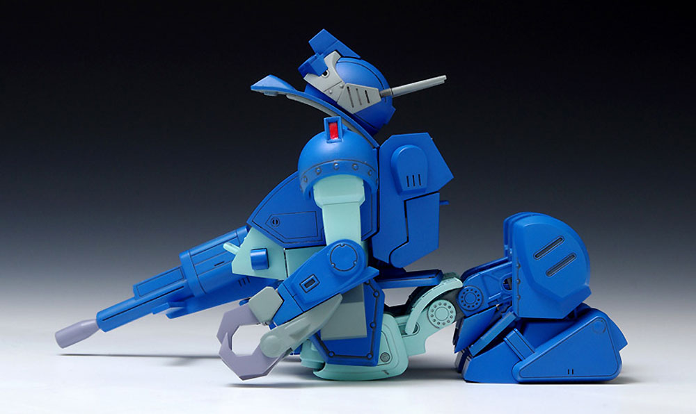 X・ATH-02-DT ラビドリードッグ (PS版)プラモデル(ウェーブ装甲騎兵ボトムズNo.PS-001)商品画像_4