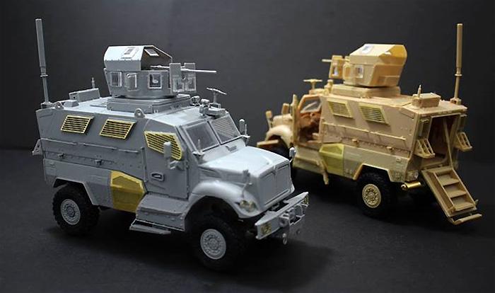 マックスプロ 4輪駆動 耐地雷装甲機動車プラモデル(キネティック1/35 AFVキットNo.K61011)商品画像_2
