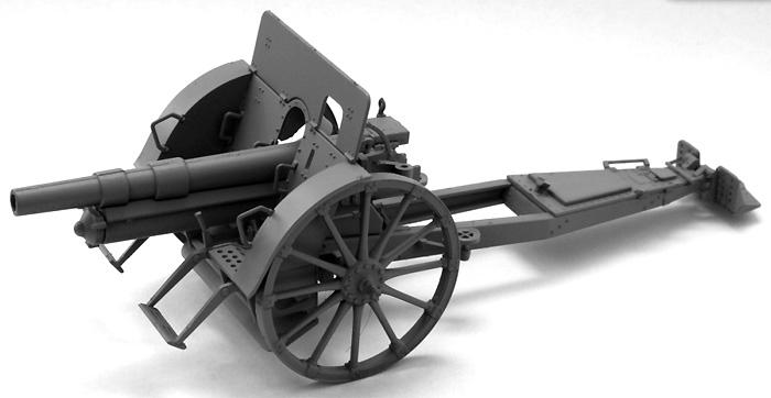 シュコダ vz.14/19 100mm榴弾砲プラモデル(IBG1/35 AFVモデルNo.35025)商品画像_2