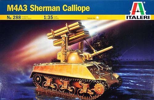 M4A3 シャーマン カリオペプラモデル(イタレリ1/35 ミリタリーシリーズNo.0288)商品画像