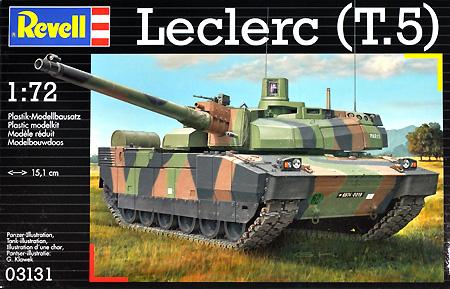 ルクレール T.5 戦車プラモデル(レベル1/72 ミリタリーNo.03131)商品画像