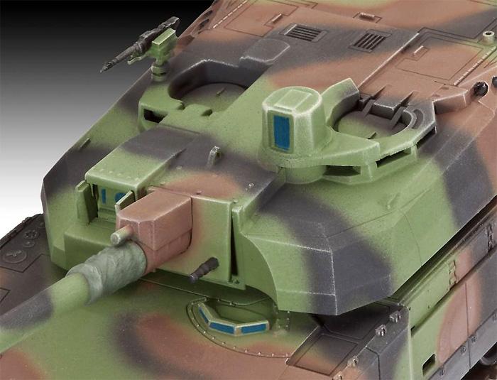 ルクレール T.5 戦車プラモデル(レベル1/72 ミリタリーNo.03131)商品画像_2