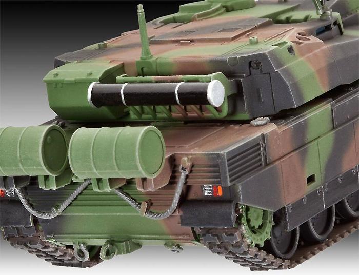 ルクレール T.5 戦車プラモデル(レベル1/72 ミリタリーNo.03131)商品画像_3