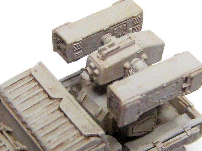 陸上自衛隊 93式近距離地対空誘導弾レジン(マツオカステン1/144 オリジナルレジンキャストキット (AFV)No.MTUAFV-066)商品画像_3