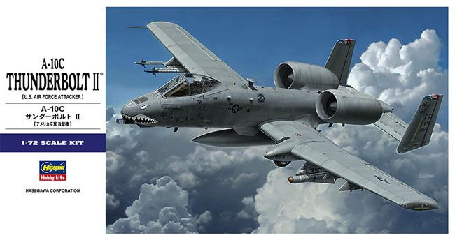 A-10C サンダーボルト 2プラモデル(ハセガワ1/72 飛行機 EシリーズNo.E043)商品画像