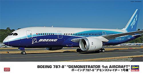 ボーイング 787-8 デモンストレイター 1号機プラモデル(ハセガワ1/200 飛行機 限定生産No.10807)商品画像