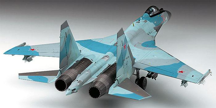 Su-35S フランカープラモデル(ハセガワ1/72 飛行機 EシリーズNo.E044)商品画像_2