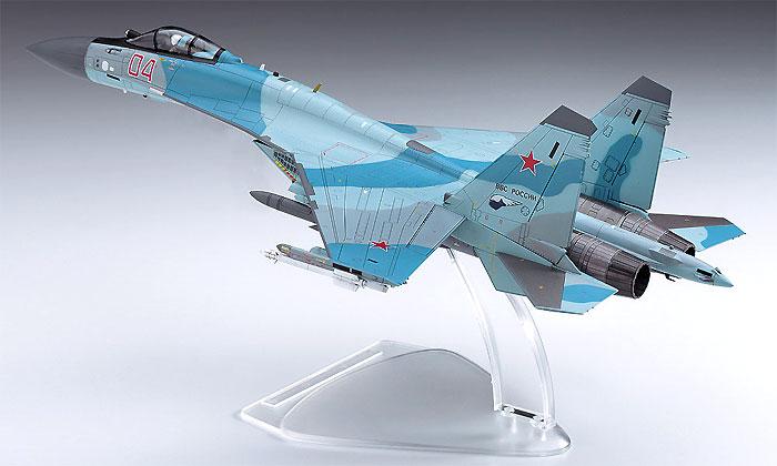 Su-35S フランカープラモデル(ハセガワ1/72 飛行機 EシリーズNo.E044)商品画像_3