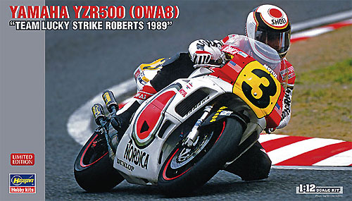 ヤマハ YZR500 (OWA8) チーム ラッキーストライク ロバーツ 1989プラモデル(ハセガワ1/12 バイクシリーズNo.21710)商品画像