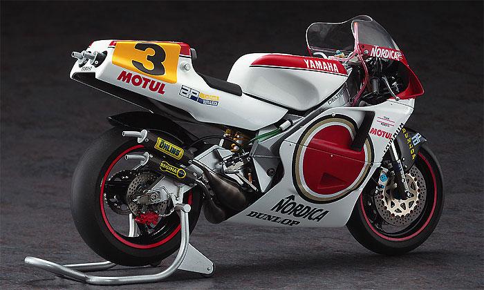 ヤマハ YZR500 (OWA8) チーム ラッキーストライク ロバーツ 1989プラモデル(ハセガワ1/12 バイクシリーズNo.21710)商品画像_3