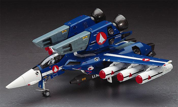 VF-1J スーパーバルキリー マックス/ミリア w/反応弾プラモデル(ハセガワマクロスシリーズNo.65827)商品画像_2