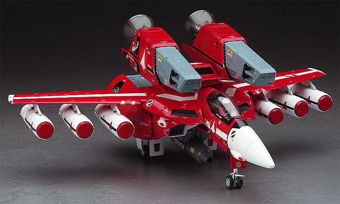 VF-1J スーパーバルキリー マックス/ミリア w/反応弾プラモデル(ハセガワマクロスシリーズNo.65827)商品画像_3