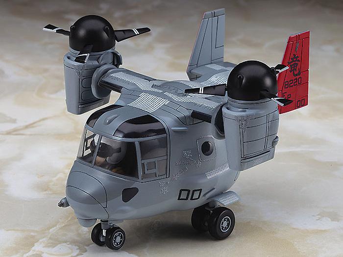 MV-22 オスプレイプラモデル(ハセガワたまごひこーき シリーズNo.TH025)商品画像_2