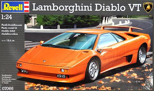 ランボルギーニ ディアブロ VTプラモデル(レベルカーモデルNo.07066)商品画像