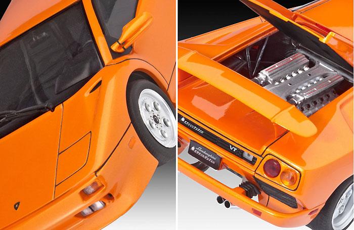ランボルギーニ ディアブロ VTプラモデル(レベルカーモデルNo.07066)商品画像_1