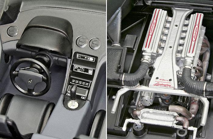ランボルギーニ ディアブロ VTプラモデル(レベルカーモデルNo.07066)商品画像_2