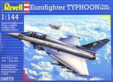 ユーロファイター タイフーン 複座型プラモデル(レベル1/144 飛行機No.04879)商品画像
