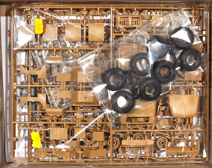 ソビエト ZiL-131 カーゴトラックプラモデル(ICM1/35 ミリタリービークル・フィギュアNo.35515)商品画像_1