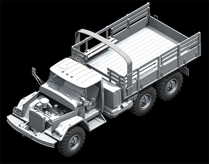 ソビエト ZiL-131 カーゴトラックプラモデル(ICM1/35 ミリタリービークル・フィギュアNo.35515)商品画像_2