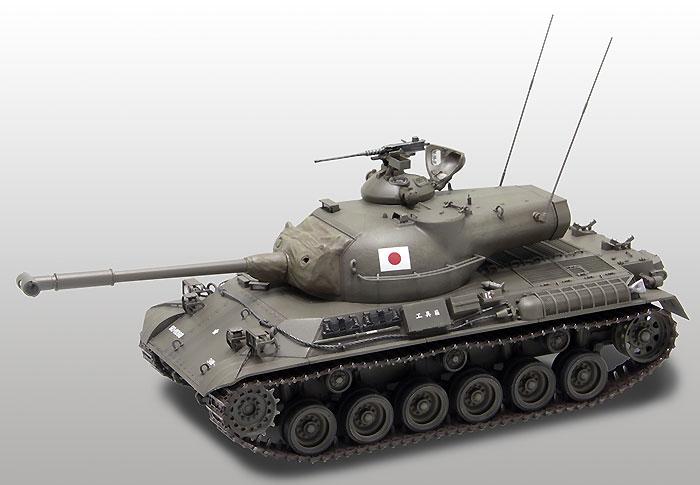 陸上自衛隊 61式戦車プラモデル(ファインモールド1/35 ミリタリーNo.FM043)商品画像_3