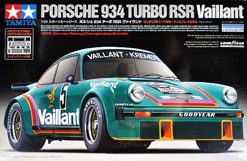 ポルシェ 934 ターボ RSR ヴァイラントプラモデル(タミヤ1/24 スポーツカーシリーズNo.334)商品画像