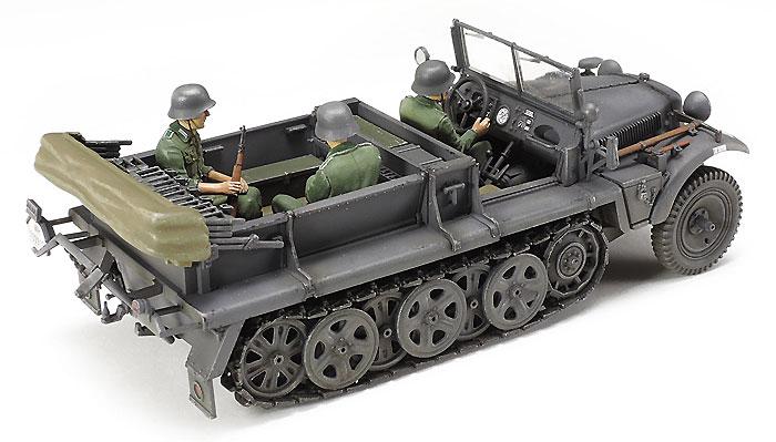 ドイツ 1トン ハーフトラック Sd.kfz.10プラモデル(タミヤタミヤ イタレリ シリーズNo.37016)商品画像_3