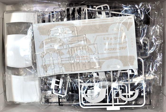 LBワークス 130 ローレルプラモデル(アオシマ1/24 リバティーウォークNo.005)商品画像_1
