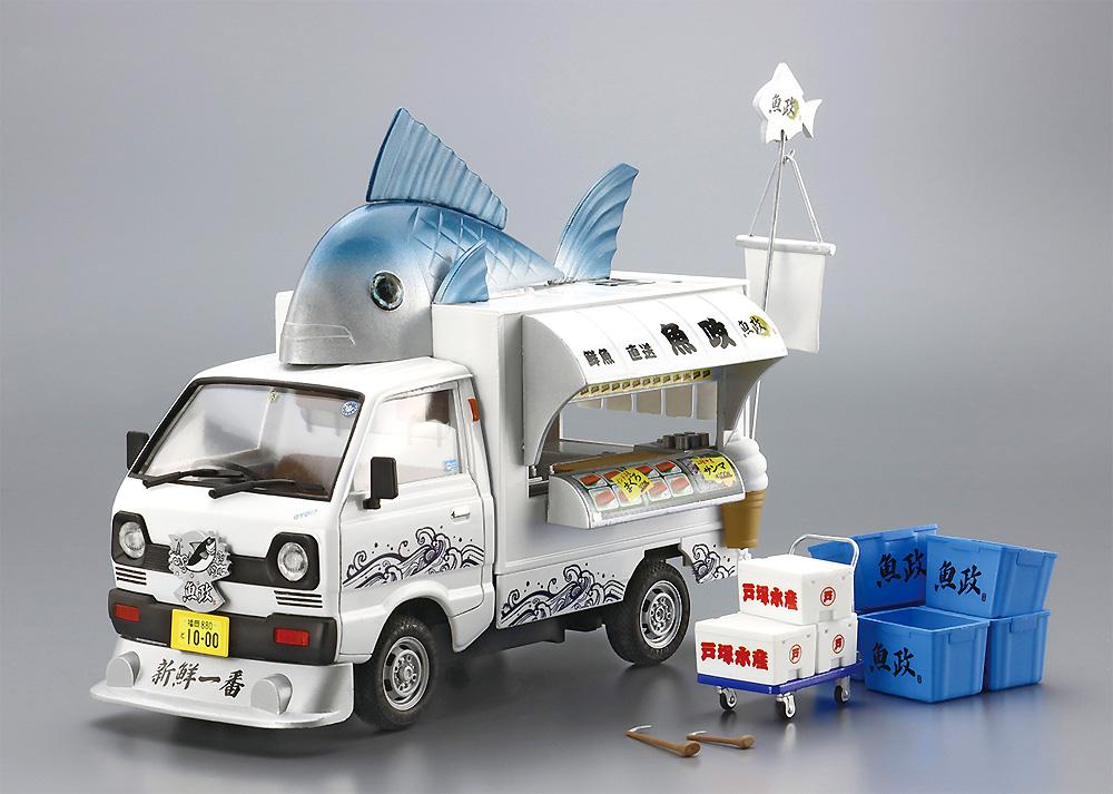 魚屋さんプラモデル(アオシマ移動販売No.001)商品画像_2