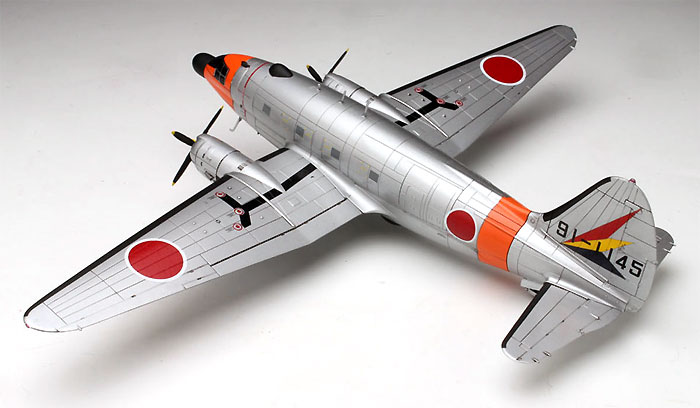 航空自衛隊 電子訓練機 C-46ECMプラモデル(プラッツ1/144 プラスチックモデルキットNo.PD-022)商品画像_3