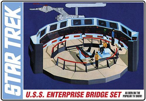 U.S.S. エンタープライズ ブリッジセットプラモデル(amtスタートレック(STAR TREK)シリーズNo.AMT808/12)商品画像