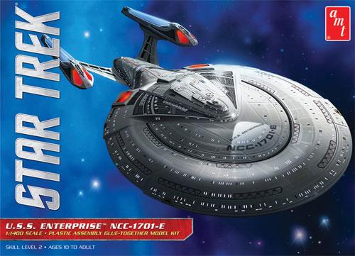 NCC1701-E U.S.S エンタープライズプラモデル(amtスタートレック(STAR TREK)シリーズNo.AMT853/12)商品画像