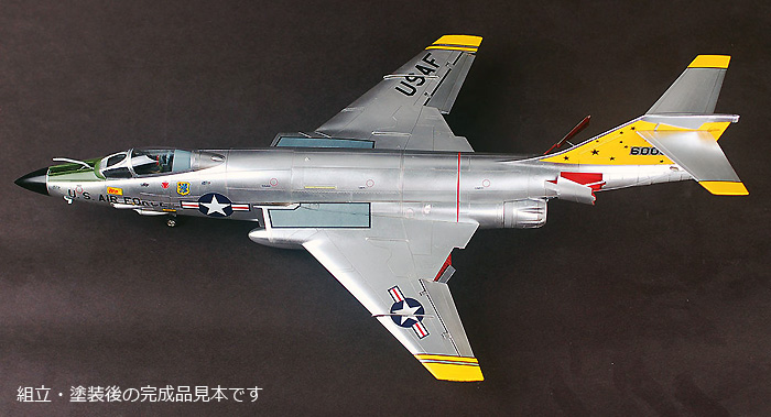 F-101A/C ブードゥープラモデル(キティホーク1/48 ミリタリーNo.KH80115)商品画像_2