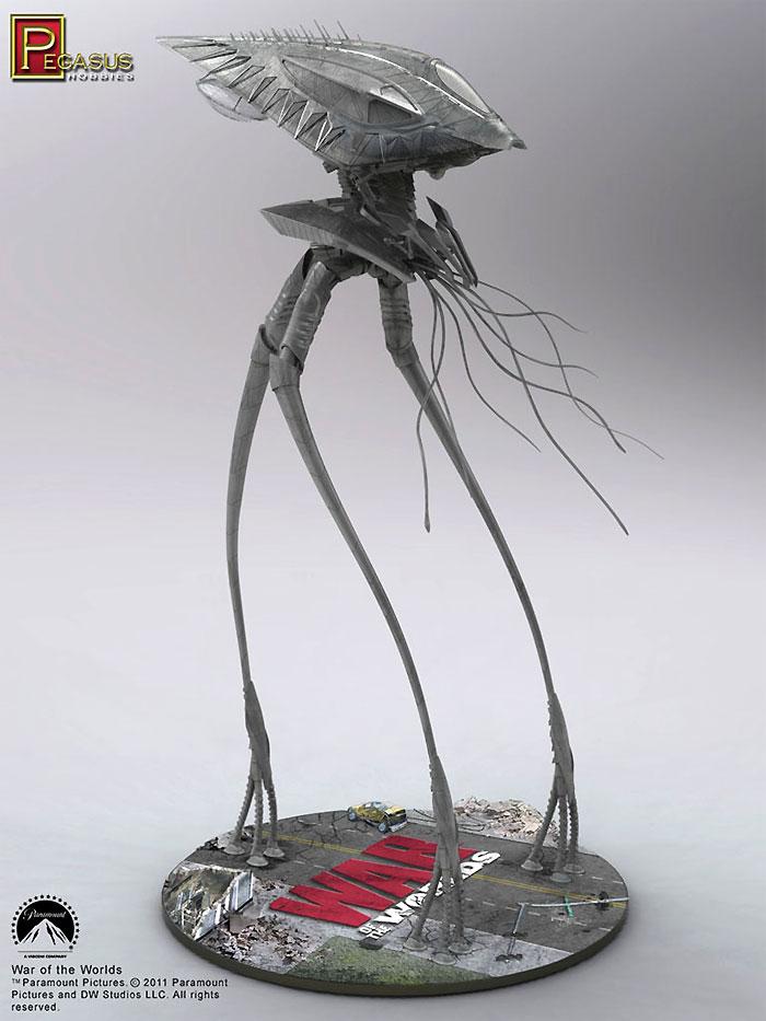 エイリアン・トライポッド (宇宙戦争)プラモデル(ペガサスホビープラスチックモデルキットNo.9005)商品画像_3