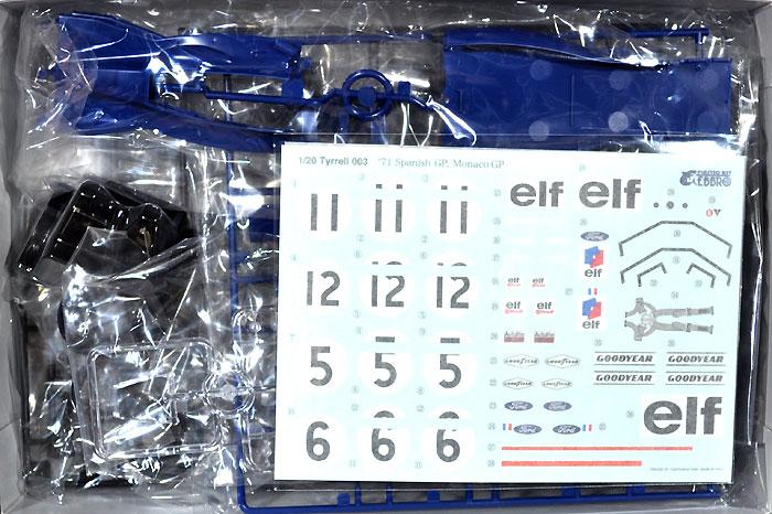 ティレル 003 モナコGP 1971プラモデル(エブロ1/20 MASTER SERIES F-1No.007)商品画像_1
