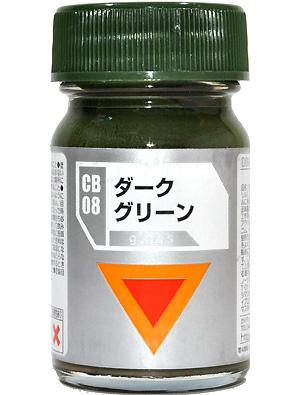 CB-008 ダークグリーン (光沢)塗料(ガイアノーツダグラムカラーNo.33808)商品画像
