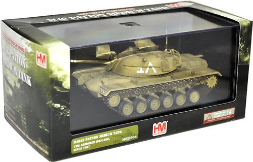 M48A2 パットン イスラエル軍 第7機甲旅団完成品(ホビーマスター1/72 グランドパワー シリーズNo.HG5504)商品画像