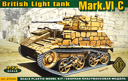 イギリス マーク6C 軽戦車プラモデル(エース1/72 ミリタリーNo.72292)商品画像