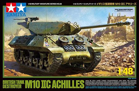 イギリス 駆逐戦車 M10 2C アキリーズプラモデル(タミヤ1/48 ミリタリーミニチュアシリーズNo.082)商品画像