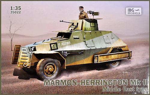 マーモンヘリントン Mk.2 四輪駆動装甲車 中東仕様 ボーイズATガン装備プラモデル(IBG1/35 AFVモデルNo.35022)商品画像