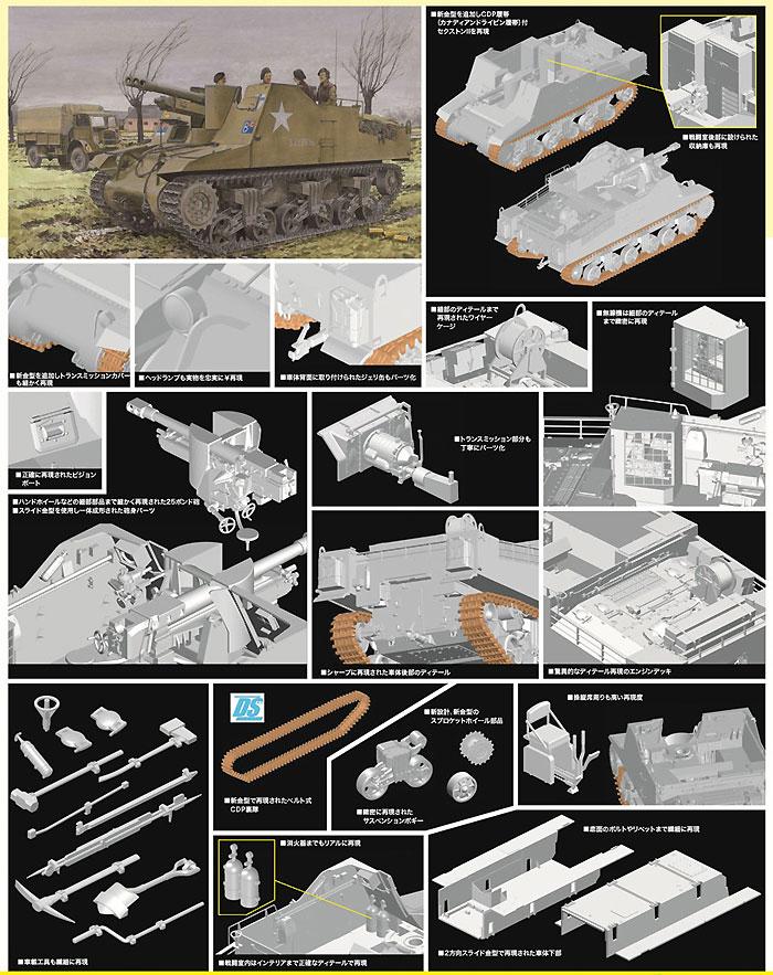 カナダ陸軍 セクストン 2 後期生産型プラモデル(サイバーホビー1/35 AFV シリーズ ('39~'45 シリーズ)No.6793)商品画像_2