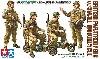 イギリス軍 空挺兵 小型オートバイセット