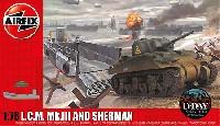 エアフィックス1/76 ミリタリーL.C.M. Mk.3 & シャーマン